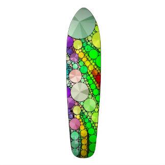 Motif abstrait magnifique de Bling Planches À Roulettes