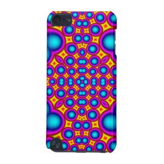 Motif abstrait multicolore