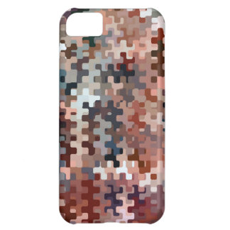 Motif abstrait multicolore modifié la tonalité par coque iPhone 5C