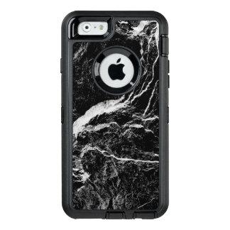 Motif abstrait noir et blanc coque OtterBox iPhone 6/6s