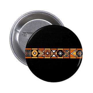 Motif africain badge