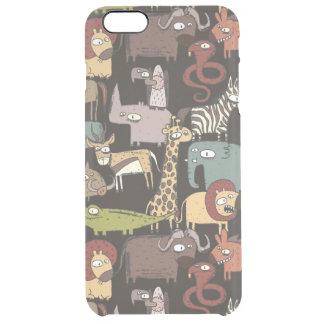 Motif africain d'animaux coque iPhone 6 plus