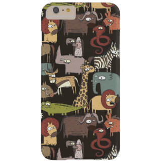 Motif africain d'animaux coque iPhone 6 plus barely there