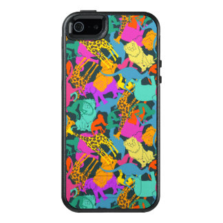 Motif animal de silhouettes coque OtterBox iPhone 5, 5s et SE