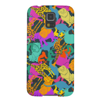 Motif animal de silhouettes protections galaxy s5