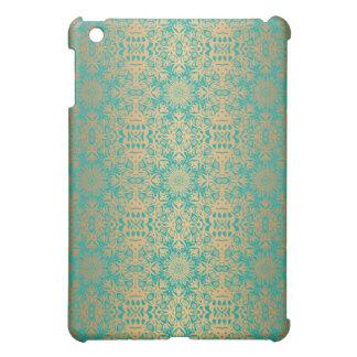 Motif antique royal de luxe floral coques iPad mini