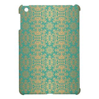 Motif antique royal de luxe floral coques pour iPad mini