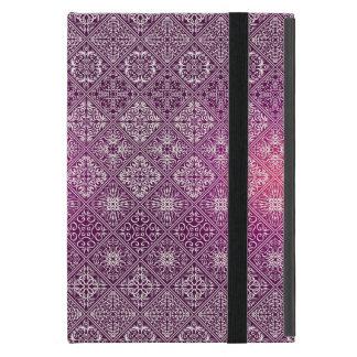 Motif antique royal de luxe floral étui iPad mini