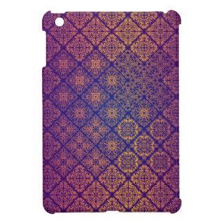 Motif antique royal de luxe floral étuis iPad mini
