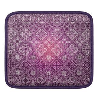 Motif antique royal de luxe floral housse pour iPad