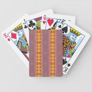 Motif artistique coloré multi vibrant cartes à jouer