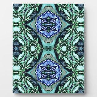 Motif artistique lilas turquoise génial impressions sur plaque