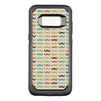 Motif avec la moustache coque samsung galaxy s8 par OtterBox commuter