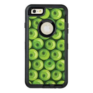 Motif avec les pommes vertes coque OtterBox iPhone 6 et 6s plus