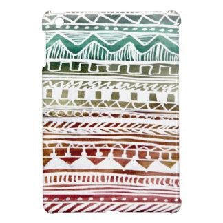 Motif aztèque d'été coques iPad mini