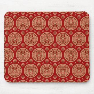 Motif aztèque tapis de souris