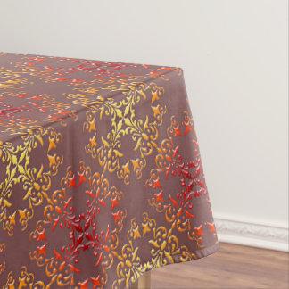 motif baroque abstrait de style nappe