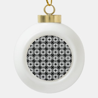 Motif baroque moderne géométrique boule en céramique