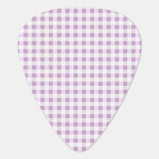 Motif blanc lilas de guingan onglet de guitare