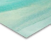 Motif bleu de lavage d'aquarelle d'Ombre Carte De Visite