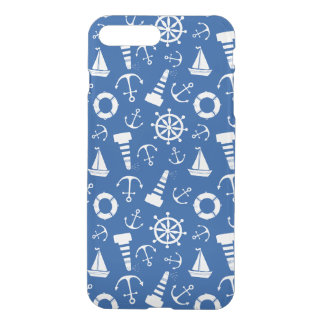 Motif bleu de mer coque iPhone 8 plus/7 plus