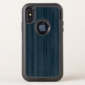 Motif bleu-foncé de fibre de bois