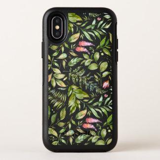 Motif botanique de mini-serre
