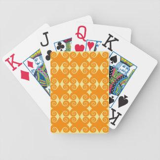 Motif bouclé de diamant jeu de cartes