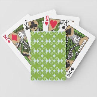 Motif bouclé de diamant jeu de poker