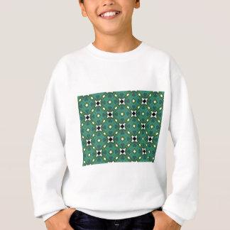 motif carré de conception sweatshirt