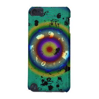 Motif cerclé multicolore coque iPod touch 5G