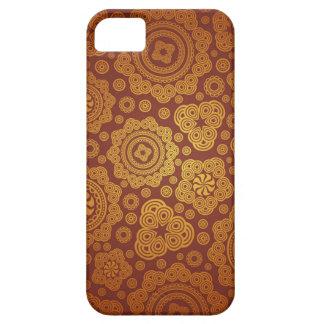 Motif chaud de Paisley d'or iPhone 5 Case