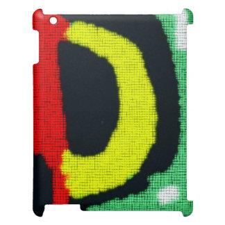 Motif coloré abstrait moderne coque pour iPad