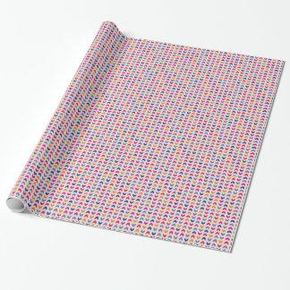 Motif coloré aztèque de Chevron Papier Cadeau
