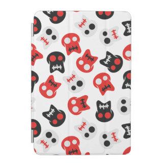 Motif coloré de crâne comique protection iPad mini