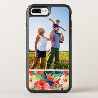 Motif coloré de ketmie de photo coque OtterBox symmetry iPhone 8 plus/7 plus