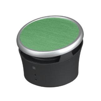 Motif coloré de texture de rétro carton vert haut-parleur bluetooth