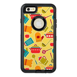 Motif coloré des ustensiles de cuisine coque OtterBox iPhone 6 et 6s plus