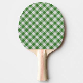 motif coloré géométrique de coton raquette de ping pong