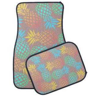 motif coloré tropical d'ananas d'été tapis de sol