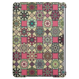 Motif coloré vintage décoratif avec le patchwork