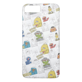 Motif comique de StreetVintage de sésame Coque iPhone 8 Plus/7 Plus