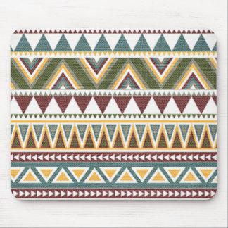 Motif complexe aztèque tapis de souris