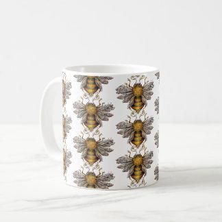 Motif    d'abeilles mug