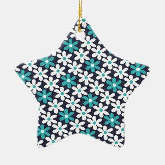 motif d'abrégé sur fleur ornement étoile en céramique
