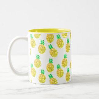Motif d'ananas - tasse