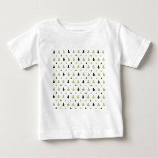 Motif d'avocat t-shirt pour bébé