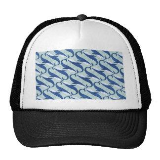 Motif de baleines bleues - par Jago Casquette