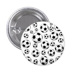 Motif de ballon de football pin's