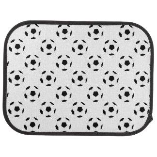 Motif de ballon de football tapis de voiture